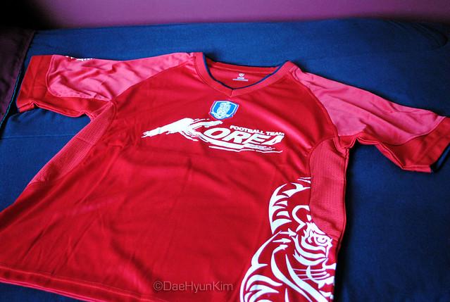 Official Korea Football Team Warm-Up Jersey