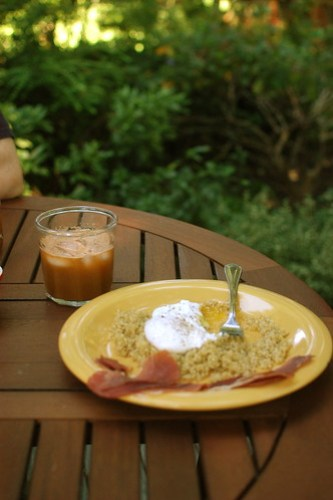 last breakfast with Sharon