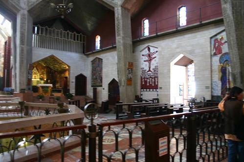 Upstairs at the Basilica
