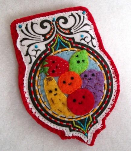 Fruity Fanclub badge