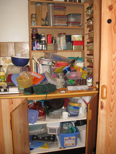 Kitchen dumping ground