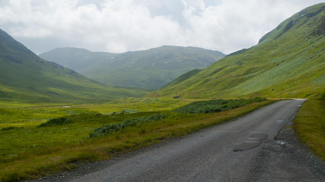 Road through Glen More
