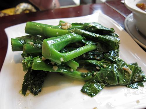 Stir Fried Kai Lan with Garlic