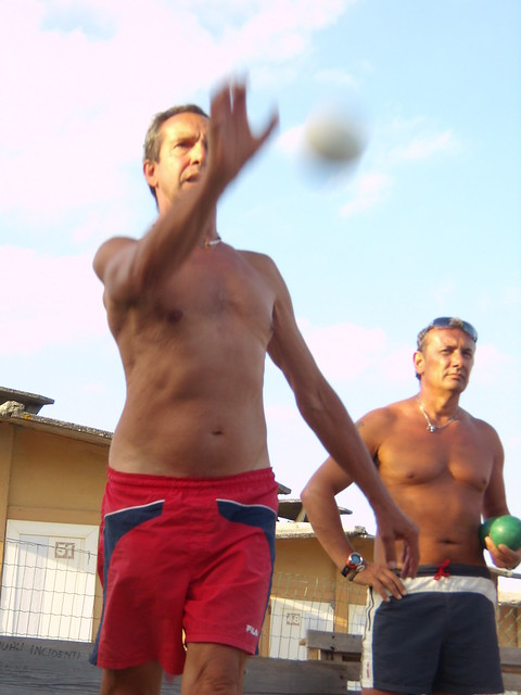 Rebecchi Paolo e Simonini Giancarlo - boccia