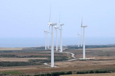 Wind turbine farm. Tunisia. Photo: © Dana Smillie / World Bank