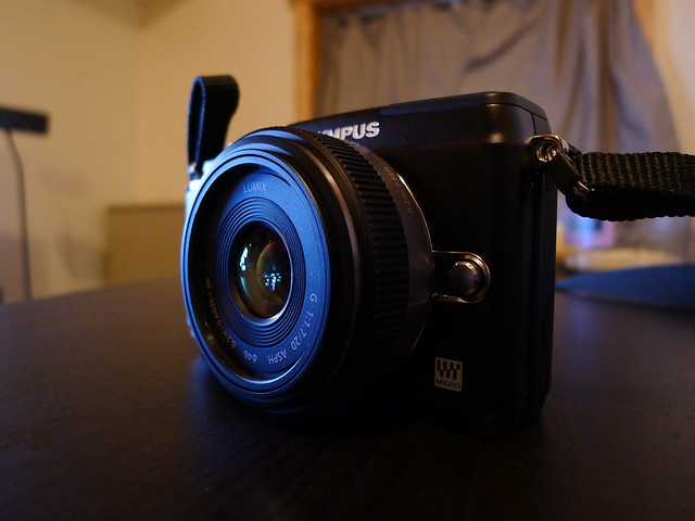 Olympus E-PL2 w/ 20mm pancake lens