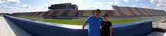 Panorama of Amanda and I at Michigan International Speedway
