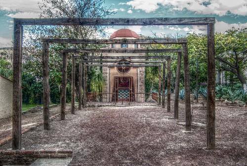 Capilla en Hacienda Tequilera, Tequila Jalisco Mexico