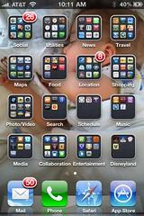 My iPhone 4 home screen