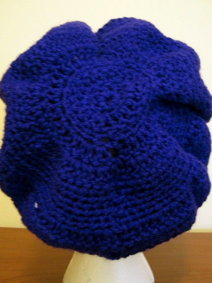 Mushroom Hat -- Back View