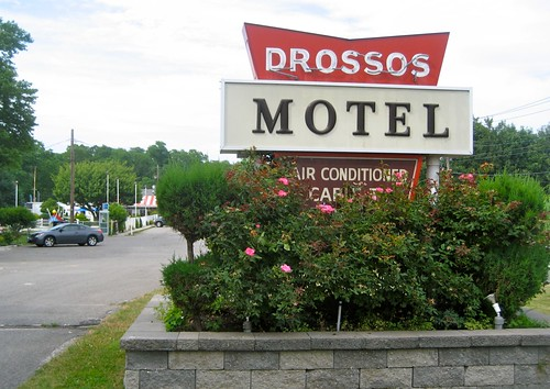 Drossos Motel Sign