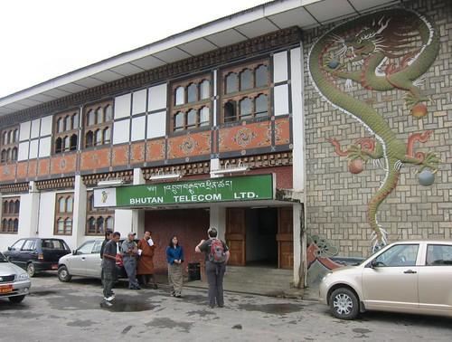 Bhutan Telecom office