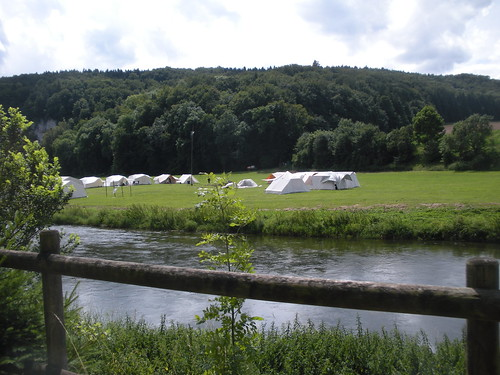 Youth summer camp on the Donau