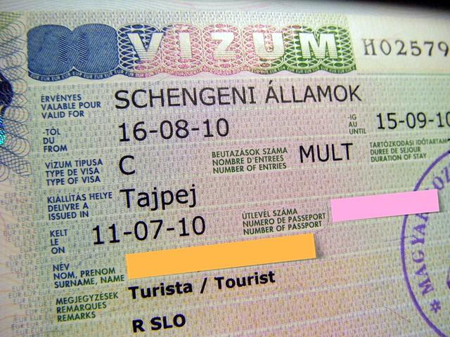 My Schengen Visa