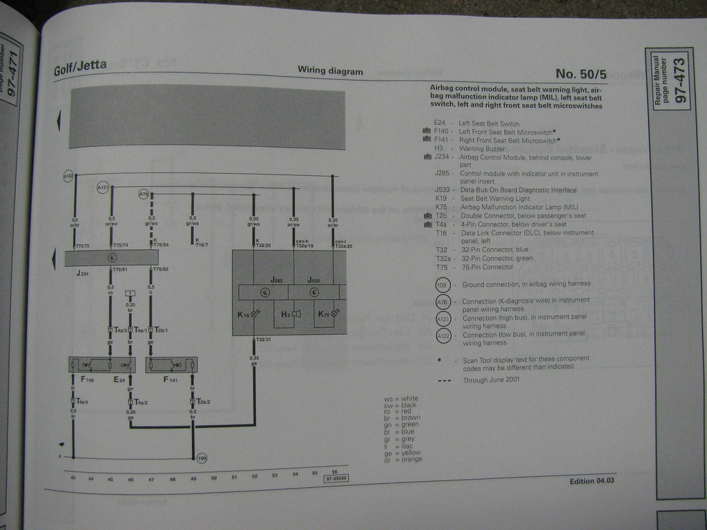 Electrical Wiring Diagram 2003 Vw Jetta Wiring Diagram Volkswagen