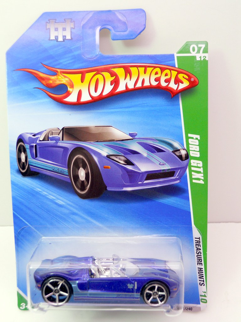 hot wheels treasure hunt ford gtx1