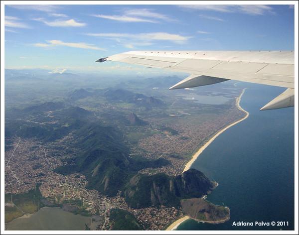 Aérea saída do Rio por Adriana Paiva