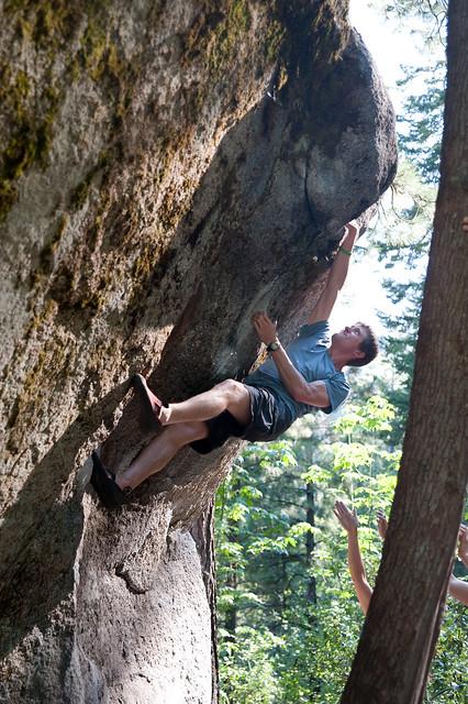 Leavenworth Bouldering Photos