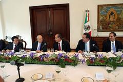 Comida de Trabajo con el Consejo Mexicano de Hombres de Negocios