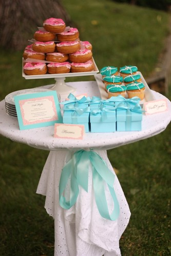 tiffany shower sweets