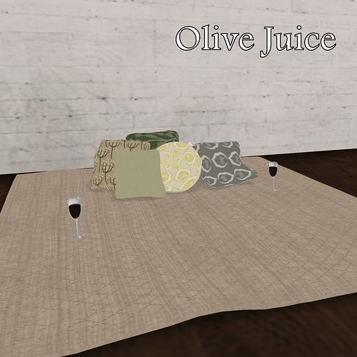 SL House & Garden Hunt - Olive Juice