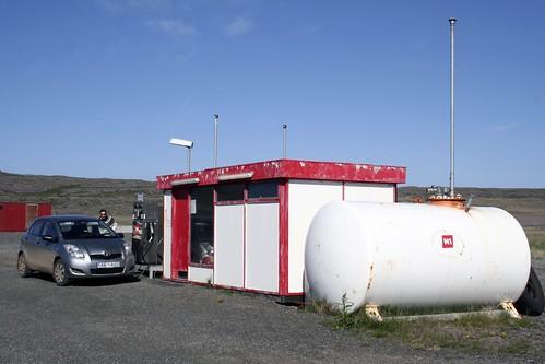 Benzina a Reykjanes