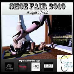 2010 Shoe Fair Poster