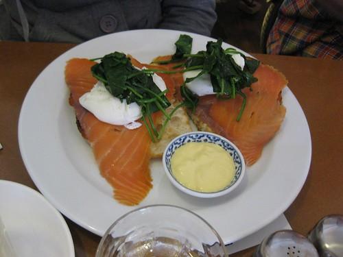 salmon benedict