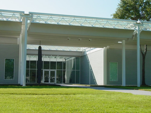 The Menil Collection main entrance