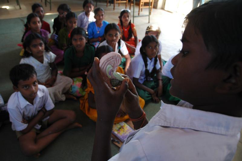 School unschool, science exploration, Agastya foundation, Bangalore