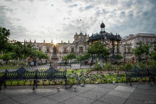 Amanecer, Quisco, Palacio de Gobierno, Plaza de Armas