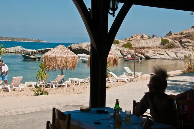 Beach in the Halkidiki