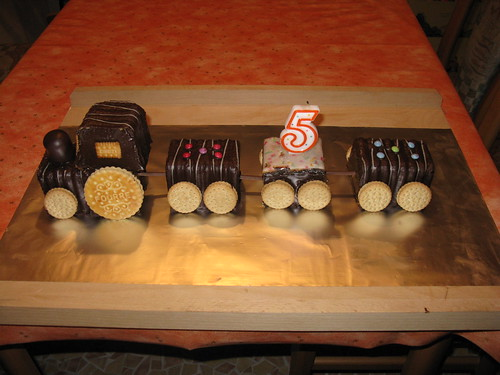 Geburtstagszug für Kindergarten