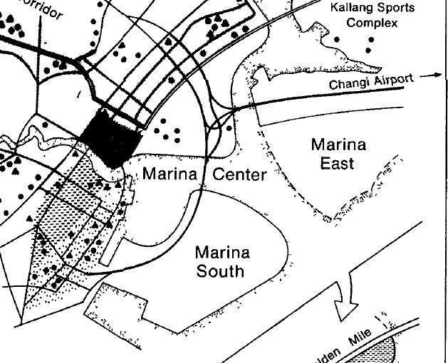 marina bay in 1800s
