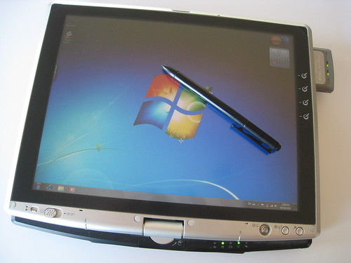 Windows 7 on Toshiba Portege M200