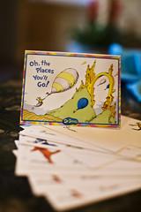 Seussian Words of Wisdom Cards