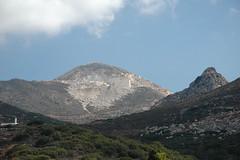 Naxos: Marmorsteinbruch bei Flerio