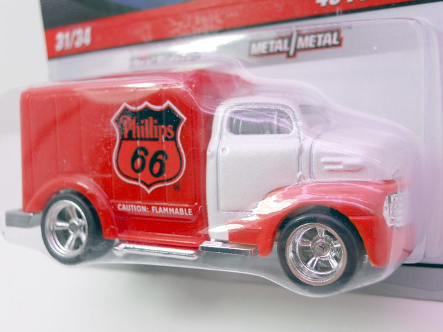 Hot Wheels delivery '49 phillips 66 ford COE (3)