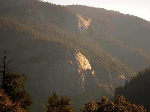 Golden Light, Half Dome View Point
