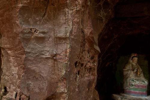 Rock with human face, Kulen mountain