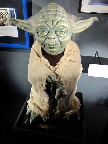 Yoda, am I?