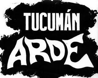 Tucuman arde, 1968, oblea, impresión offset