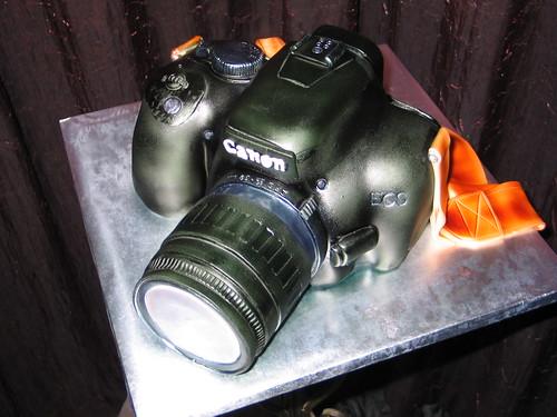 3D Camera Cake
