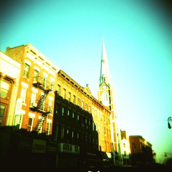 St. Anthony of Padua Church, Greenpoint (Holga)