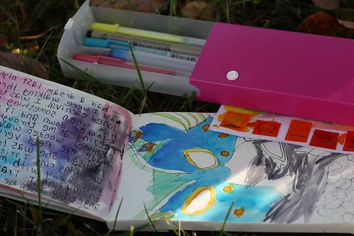 watercolor journal kit