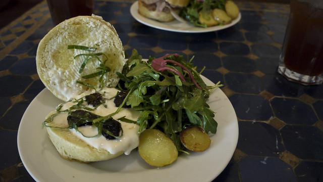 figarella sandwich at Starstream