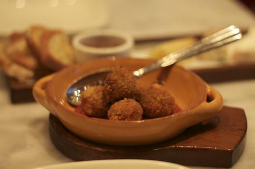 prosciutto bread balls