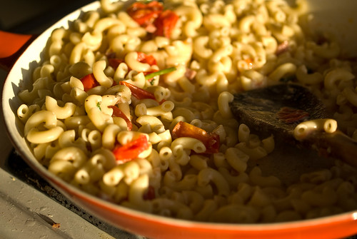 improvised pasta