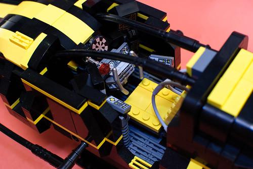Podracer cockpit closeup