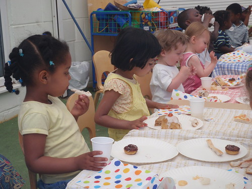 Tea Party at LEYF's Ford Road Children Centre Nursery